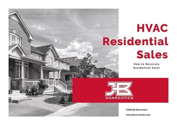 ebook-residential HVAC sales
